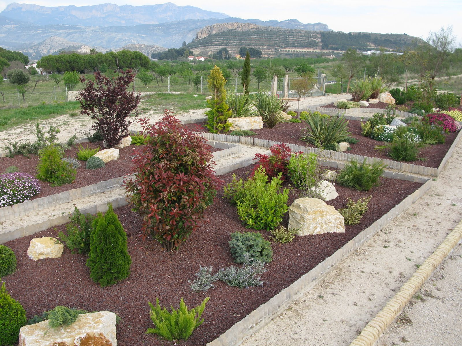 Ideas para dise ar un jard n mediterr neo dise o jardin Ideas paisajismo jardines