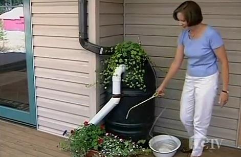 Cómo montar un barril de lluvia en casa