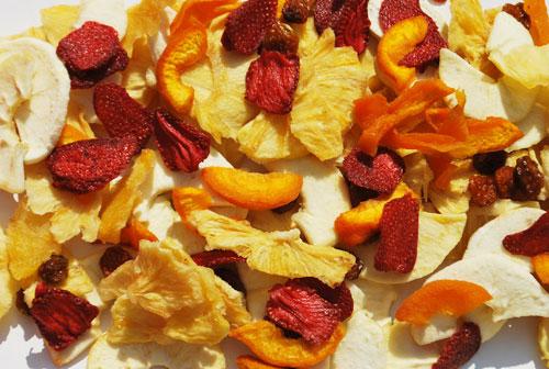 Cómo obtener frutas desecadas