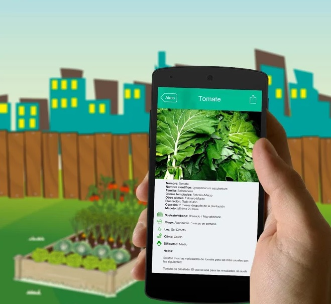 Herramientas tecnológicas para huertas urbanas: MacetoHuerto