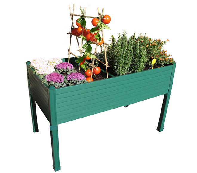 Mesas de cultivo su uso para armar huertos en espacios - Mesas espacios pequenos ...
