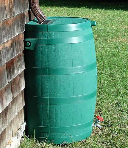 barril de lluvia