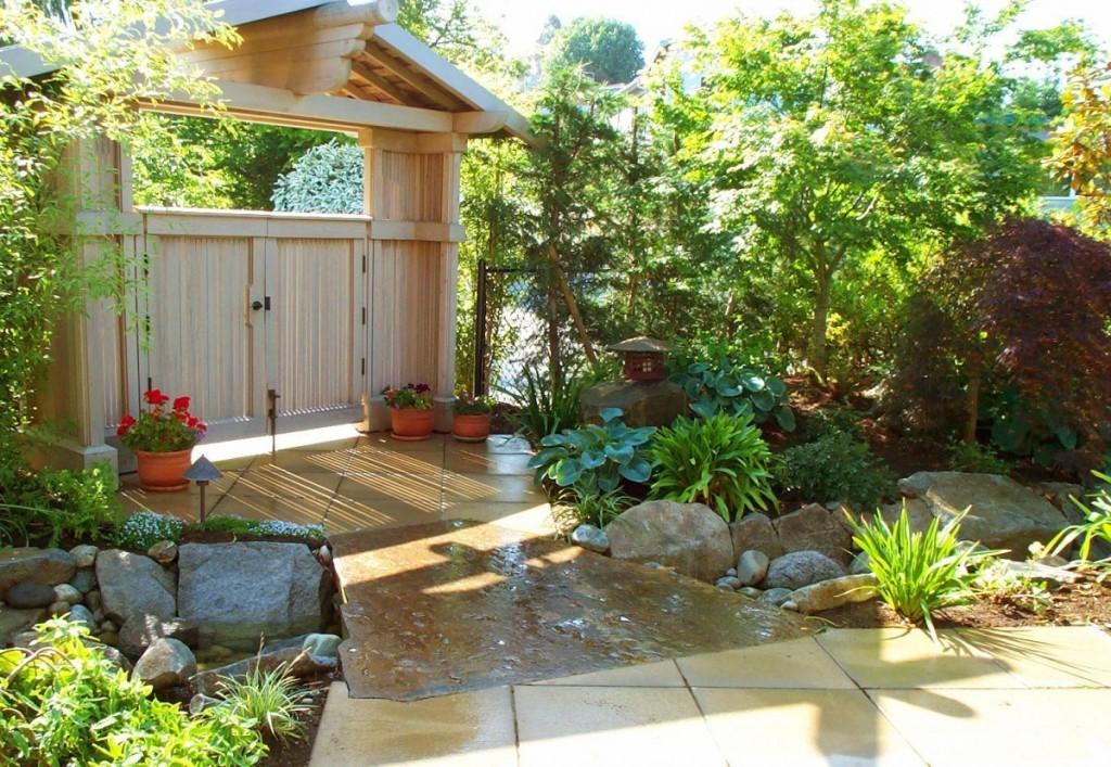 C mo armar un paisaje en tu jard n dise o jardin jardin for Decoracion de jardines con plantas