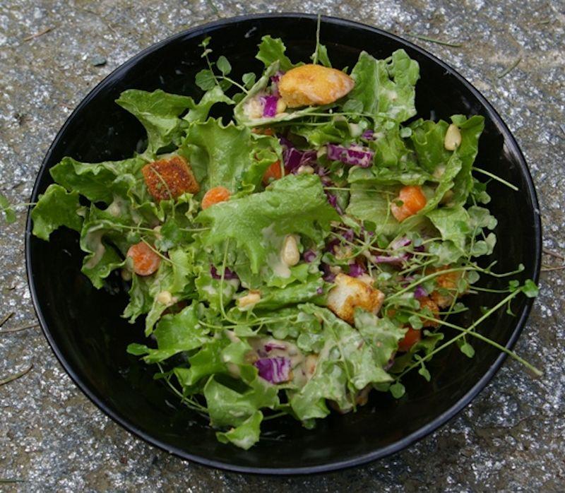 ensalada de hierbas