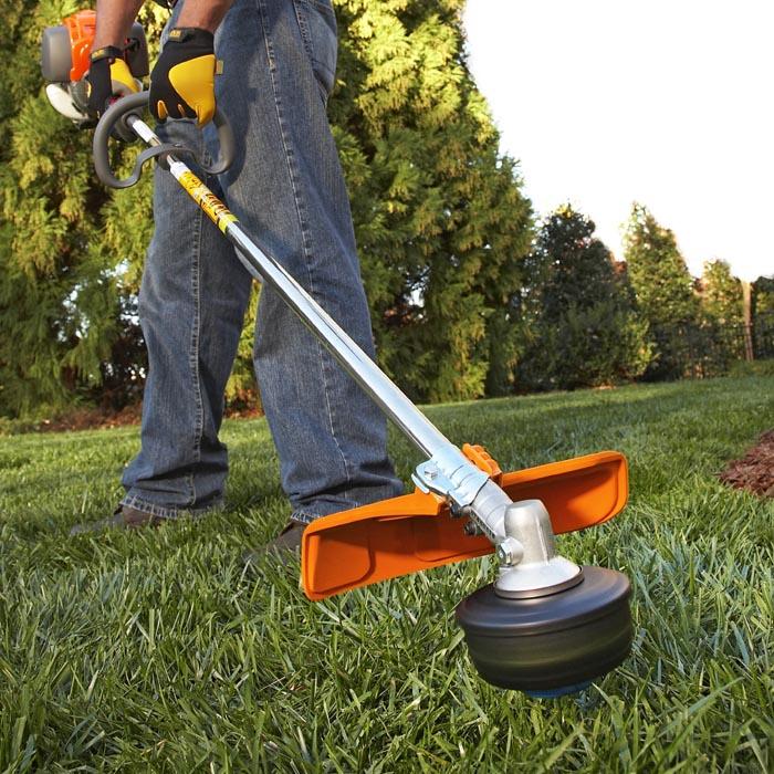 Cómo usar podadoras/bordeadoras eléctricas en el jardín