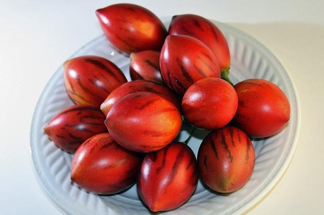 tamarillo tomate de árbol
